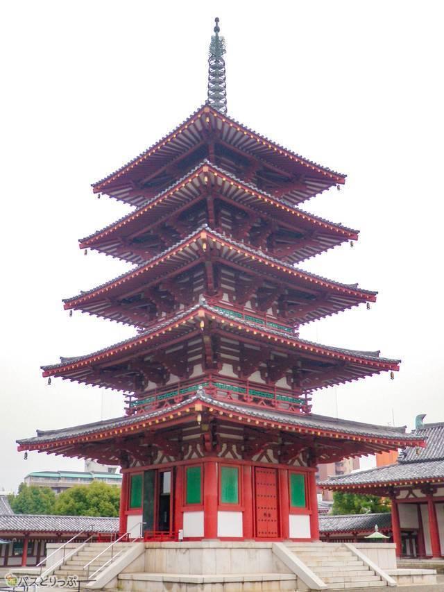四天王寺の五重塔