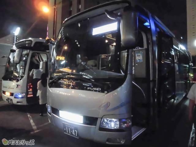 「昌栄バス」を見つけて乗車