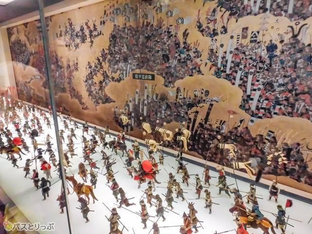 戦国武将ゆかりの文化財も多数展示