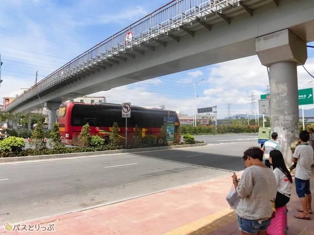 ここが高速バス乗り場?