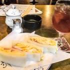 カフェ・バール こうべっこ 紅茶とハーフサンドのモーニング