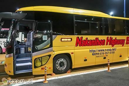 東京から加賀温泉まで格安移動!「4列ワイドシート」搭載、中日本エクスプレスの夜行バス乗車記