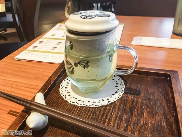 三重県産・福岡八女産のかぶせ茶(温茶)