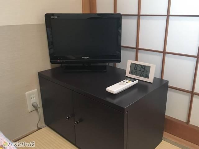 小さなテレビもあります