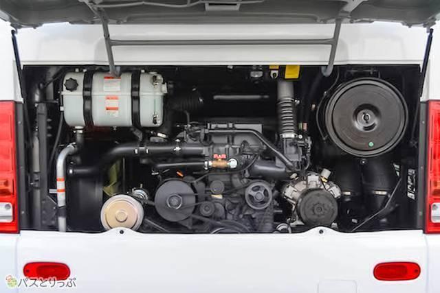 ヒュンダイ・ユニバースのエンジン