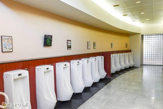 いつも綺麗に管理されているトイレ