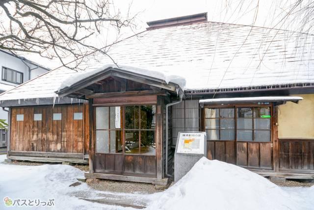 結婚したばかりの石川啄木が3週間ほど暮らした「啄木新婚の家」