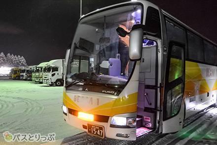 岩手県北バス「ビーム1(ワン)号」の名前の由来とは? 快適3列独立シート&電源・フリーWi-Fi付で、浜松町→盛岡へ