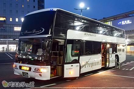 1台にたった3席! プレミアムドリーム号「プレミアムシート」でテレビを観ながら東京→奈良間をバス移動