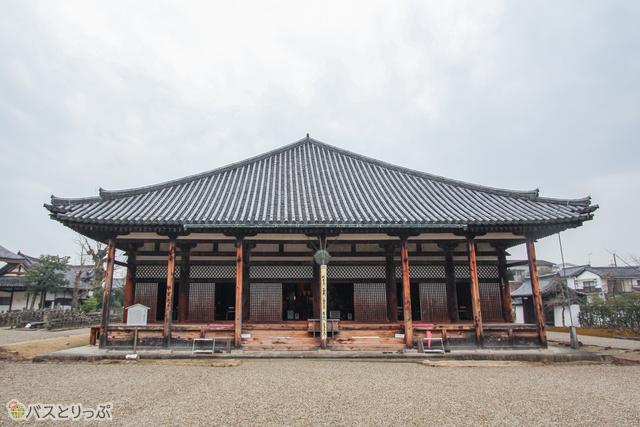 元興寺極楽堂(極楽坊本堂)