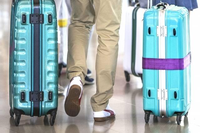 スーツケース2つまで