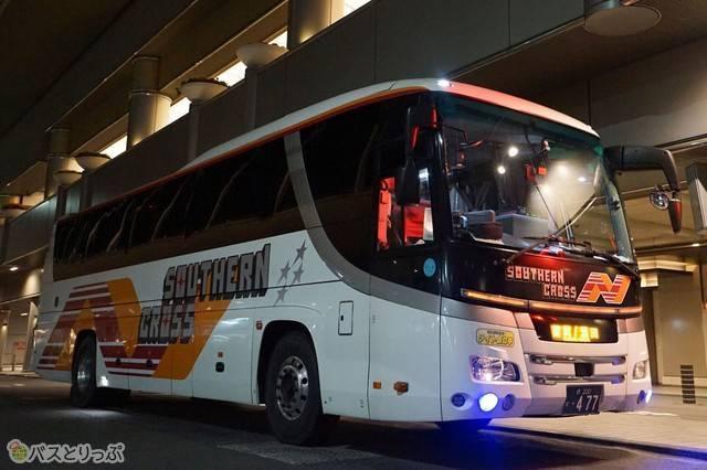 大阪~山形をむすぶ夜行高速バスサザンクロス号