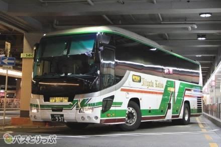 カーテン付き幅広3列独立シートで新潟へ! 新潟交通「おけさ号」で大阪から約9時間半の夜行バス旅乗車記