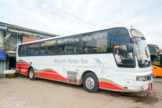 北海道でバスツアーを行なう札幌観光バス