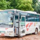 福島県の会津交通のバス
