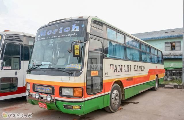 茨城県の玉里観光バス