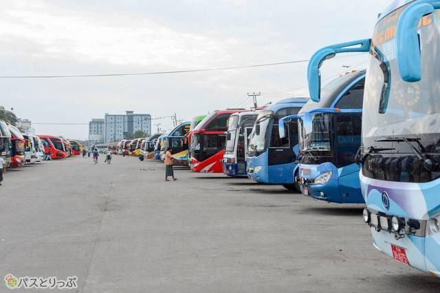 バス好きにはたまらない光景?