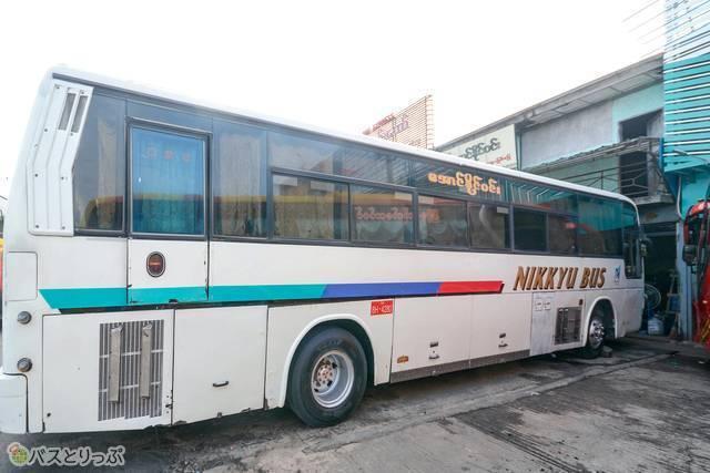 今は合併して名鉄観光バスになった名古屋観光日急のバス