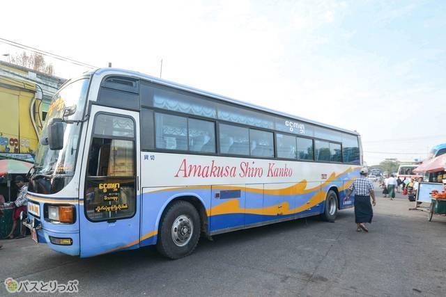 熊本県を拠点とする天草城観光のバス