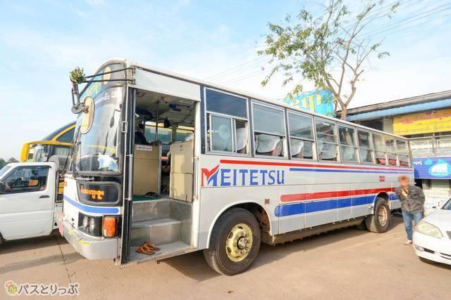 名古屋でおなじみ名鉄バスの路線バス