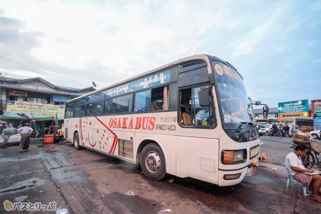 歴史を感じる大阪バス