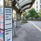 「75番」は降車場になっています