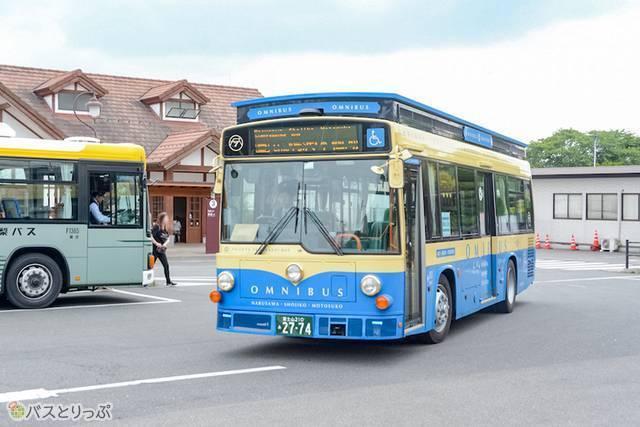 鉄道デザイナーとしても有名な水戸岡鋭治デザインの周遊バス