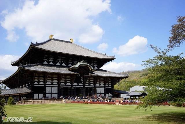 奈良を代表する東大寺大仏殿
