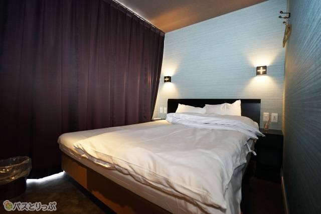 「奈良の森ホテル」こちらが2名用個室