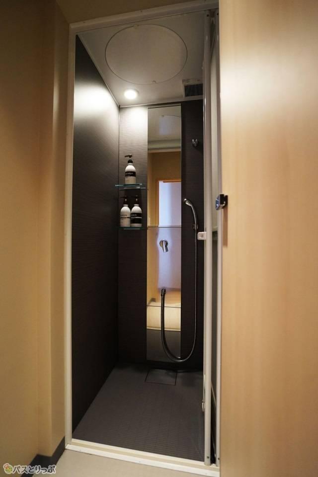 「奈良の森ホテル」シャワールーム