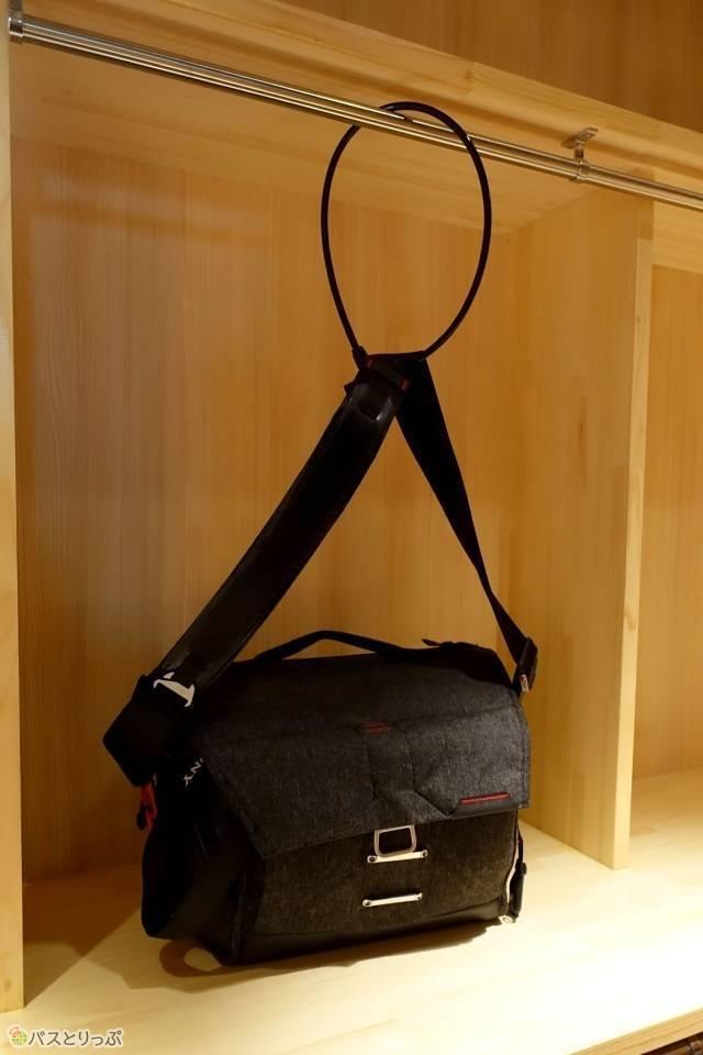「奈良の森ホテル」大きな荷物はバゲージスペースへ