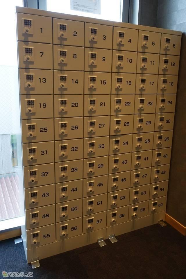 「奈良の森ホテル」貴重品はセキュリティボックスへ