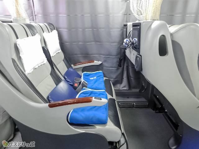 通常時の座席はこんな風