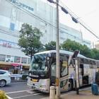 神戸三宮の停留所は、センタープラザ西館の前