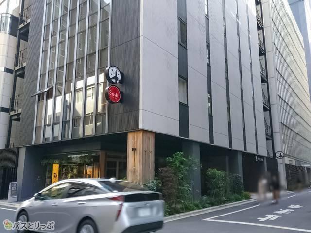 ファーストキャビン京橋店 外観