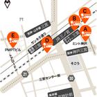 三宮駅周辺のバスターミナル