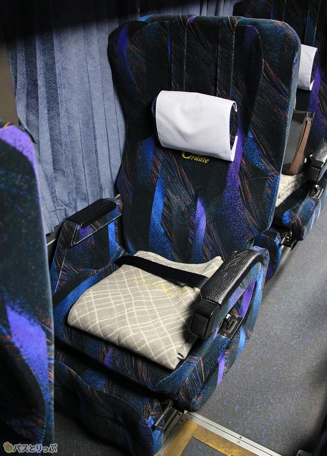 2階席「スーパーシート」も快適な眠りを提供してくれる