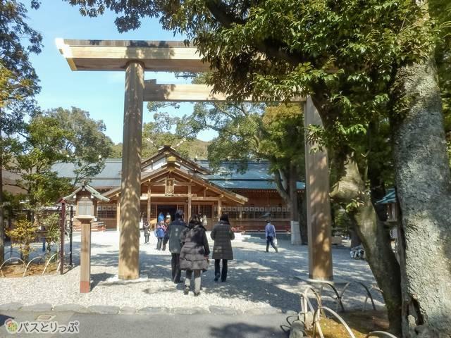 猿田彦神社鳥居(猿田彦神社、月読宮、二見浦)