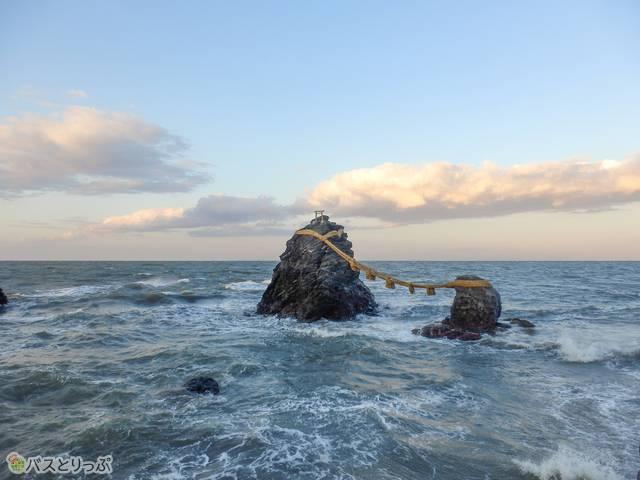 夫婦岩(猿田彦神社、月読宮、二見浦)