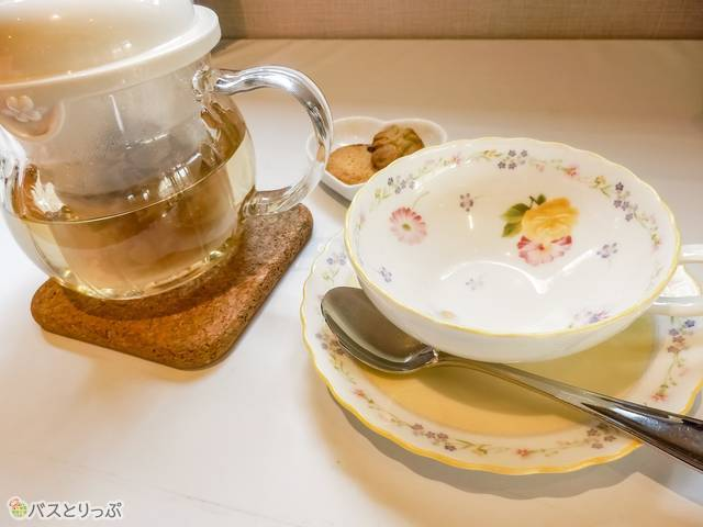 oranger B Cafeのハーブティ(猿田彦神社、月読宮、二見浦)