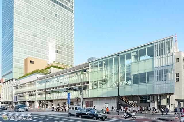 オープンから2年がたったバスタ新宿