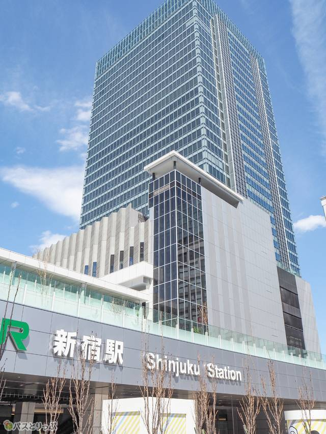 商業施設やオフィスがある複合施設のミライナタワー