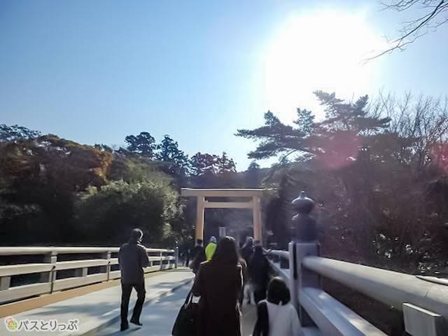 宇治橋(伊勢神宮のおまいり内宮編)