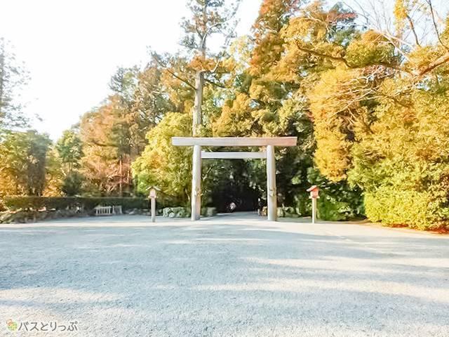 外宮入口(伊勢神宮のおまいり外宮編)