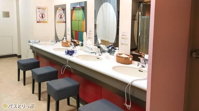 リゾートカプセル桜木町 洗面所