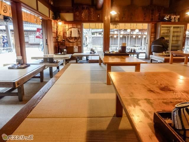 ふくすけ店内(おはらい町&おかげ横丁で伊勢名物を食べよう)