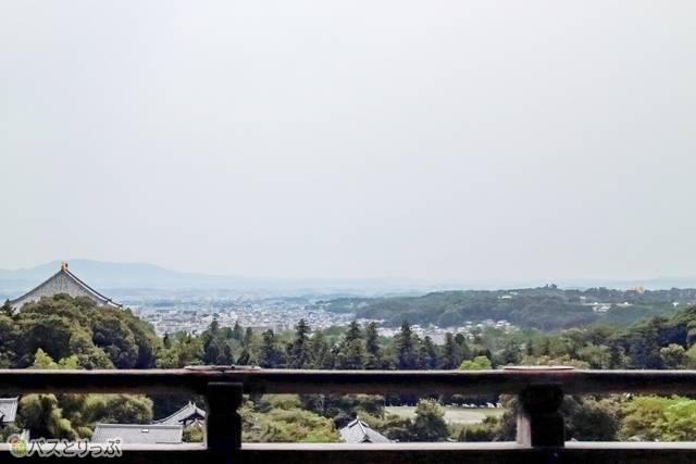 二月堂から見た景色(東大寺&興福寺)