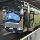 弘前バスターミナルに到着