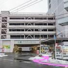 自動販売機を右折すれば「弘前バスターミナル」に到着