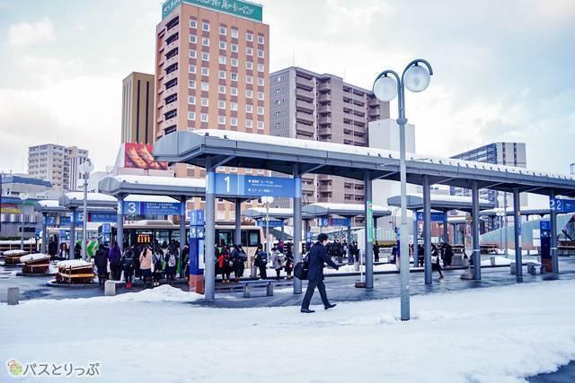 弘前駅前 高速バスターミナル
